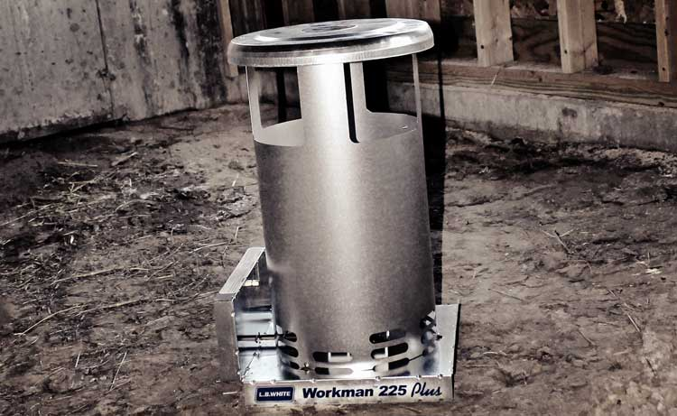 Workman™ standard-duty portable convection heater | Convection gas heater